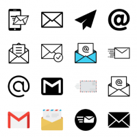 email-icons-vector
