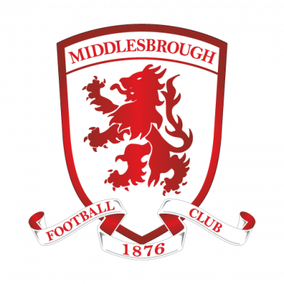 Middlesbrough FC logo vector