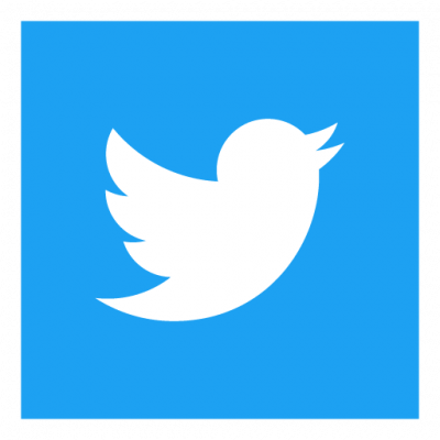 Twitter Icon Square logo vector
