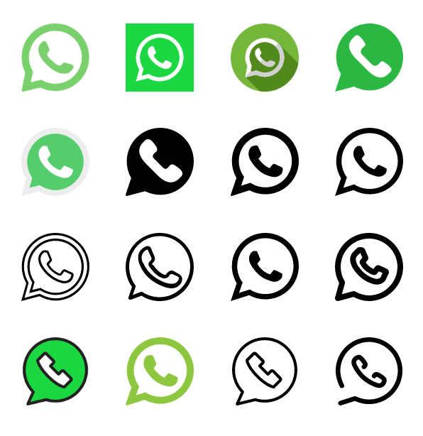 40 Whatsapp Icons Vector Free Download