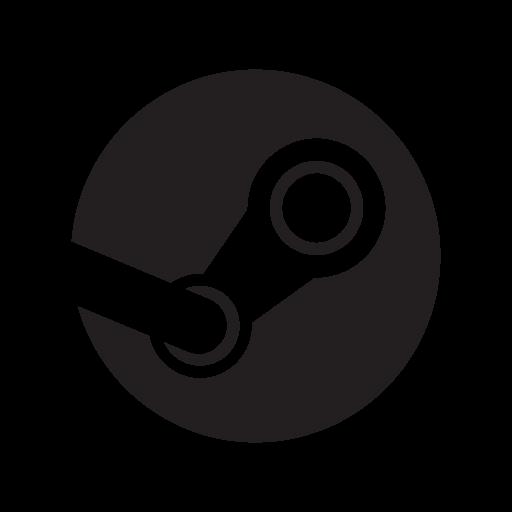 Steam logo vector