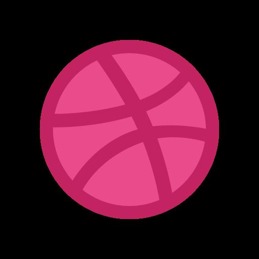Dribbble logo png