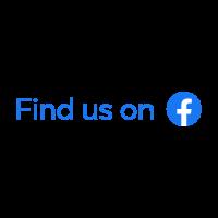 Find Us On Facebook Badge vector