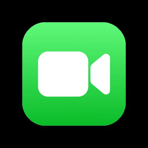 FaceTime logo vector