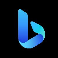 Bing logo vector