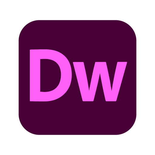 Adobe Dreamweaver logo svg