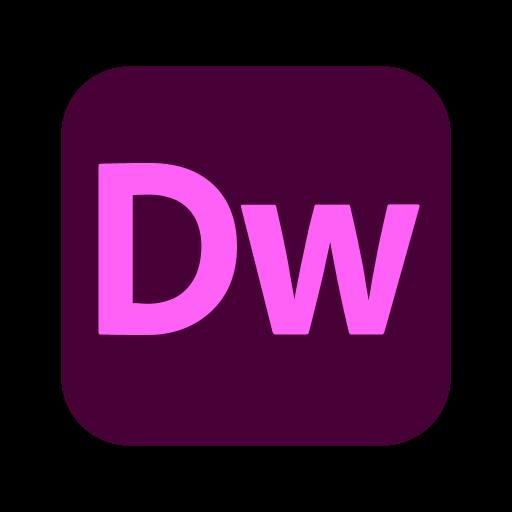 Adobe Dreamweaver logo svg