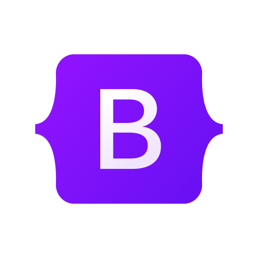 BootStrap logo png